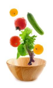 falling veggies